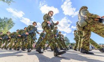 GRAAFIK: Kaitseliidu usaldusväärsus on viimase 15 aastaga jõudsalt kasvanud