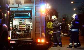 В Ида-Вирумаа пожарные спасли женщину от отравления угарным газом