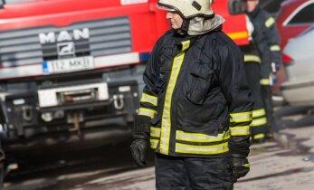 Tamsalus hävis tules kahekordne elumaja