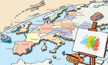 Osale oma pildiga Euroopa kaardi joonistamises