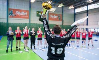 FOTOD: Eesti naiste käsipallimeistriks krooniti Reval Sport Mella