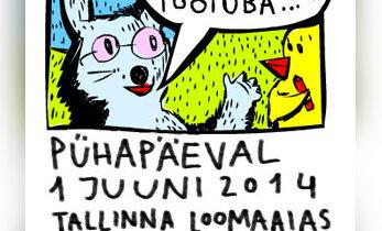 Tule pühapäeval loomaaeda koomiksit joonistama
