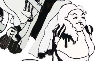 Nukuteater joonistab Lastekirjanduse keskuses muinasjutte paberile