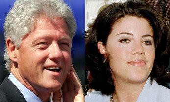 Bill Clinton pidas mitut armukest korraga? Raamat: Monica Lewinsky tegi skandaali, kui sellest teada sai