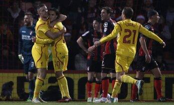 Liverpool ja Tottenham jõudsid liigakarika poolfinaali