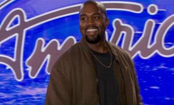 """VIDEO: Räppar Kanye West kandideeris saatesse """"Ameerika otsib superstaari"""""""