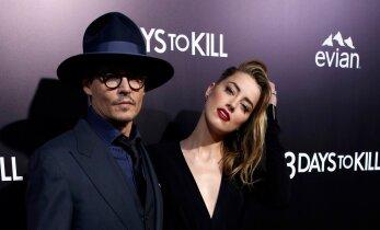 Maailma kõige seksikam piraat taas vaba: Johnny Depp ja Amber Heard lahutavad abielu