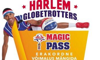Müügile tulid Harlem Globetrottersi Magic Pass'id, mis annavad võimaluse tähtedega kohtuda
