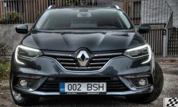 Renault Mégane Grandtour, ruumikas universaal prantslastelt, mis sakslastele silmad ette teeb