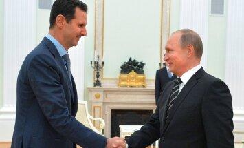 Vladimir Putin ja Bašar al-Assad