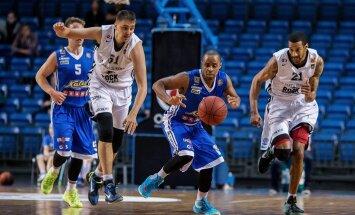 BC Kalev Cramo v Tartu Ülikool Rock, Eesti Korvpalli Meistriliiga finaalseeria teine mäng Saku Suurhallis.
