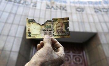 Indias muutus 86 protsenti sularahast üleöö kasutuskõlbmatuks