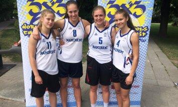 Koolide korvpalli MM-ile pääsesid Audentese tüdrukud ja Poska kooli poisid