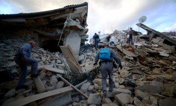 Itaaliat raputas 6,2-magnituudine maavärin, milles hukkus vähemalt kuus inimest