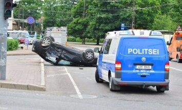 Liiklusõnnetus Tallinnas
