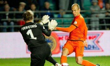 Estonia Netherlands WCup Soccer