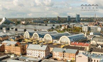 ФОТО: Чем центральный рынок в Риге отличается от таллиннского?