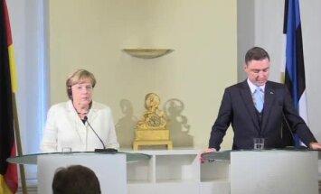 BLOGI, FOTOD ja VIDEO: Angela Merkel EPLile Brexitist: Britid peavad esitama avalduse, enne ei saa öelda, milliseks suhted kujunevad