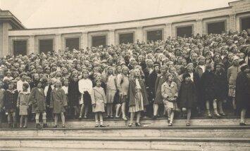 Õpilaste laulupidu Tallinnas, 1928 - 1939