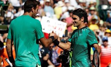 Juan Martin Del Potro, Roger Federer