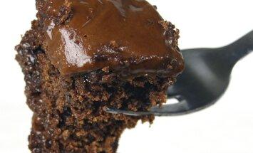 Retsept: hõrk šokolaadikook, mille valmistamiseks pole vaja ei mune, piima, võid ega ka kaussi