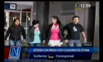 Eestlannad jäid Peruus kokaiiniga vahele