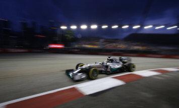 Lewis Hamilton Singapuris