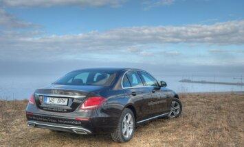 Mercedez-Benz'i uus E-klass tööstuse ja kultuuri radadel: julge olla liider!