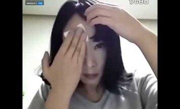 VIDEO: Ebareaalne meigimaagia! Vaata, millised on selle naise silmad tegelikult!