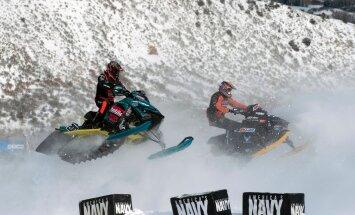 Mootorsaanide võistlus Aspenis