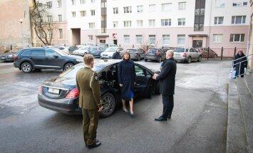 President Kaljulaid Tallinna Tõnismäe Reaalkoolis