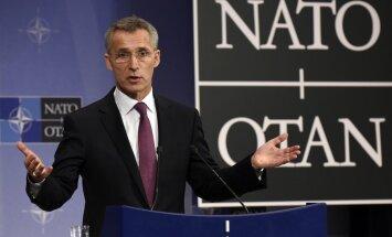 NATO: Ida-Ukrainas jätkub Vene vägede toetatud pealetung kogu rindejoonel