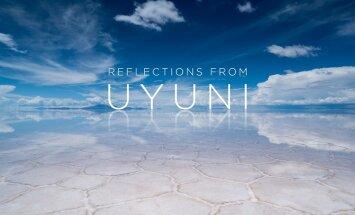 VIDEO: ulmelised meditatsioonimaastikud Uyunilt, maailma suurimalt soolajärvelt