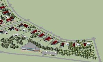 Saue vallavalitsus müüb 17 krundiga arenduspiirkonna