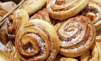 Вкуснейшие плюшки с корицей к завтраку