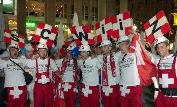 Швейцарские болельщики перепутали города