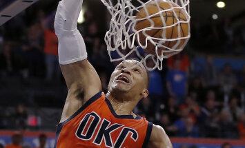 VIDEO: Westbrook tegi Pelicansi vastu hooaja 29. kolmikduubli