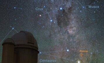Lahendus mõistatusele: Alpha Centauri on tõesti tähtede kolmiksüsteem