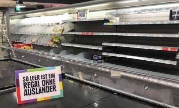 В немецком супермаркете провели кампанию против ксенофобии