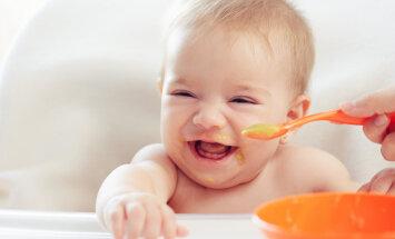 Rinnapiimalt tavatoidule — väikelapse värvikirev maitseteekond