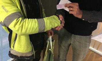 Эстонец нашел 520 евро и вернул их владельцу