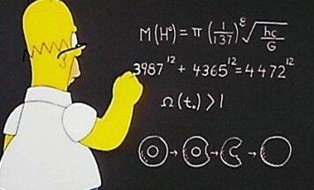 Гомер Симпсон предсказал массу бозона Хиггса в 1998 году