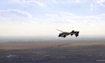 See on slovakkide ehitatud lendav auto AeroMobil 3.0, mõeldud rikastele lennuentusiastideleja võiks müüki tulla järgmisel aastal.
