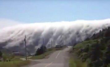 VIDEO: Udu läheneb nagu suur tsunami