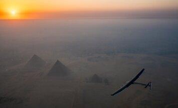 OTSEPILT: Ümbermaailmalennu viimane etapp Saudi Araabia kohal