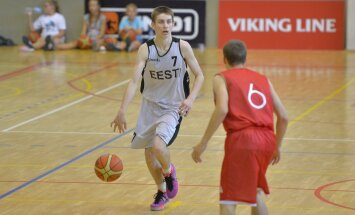 U16 Eesti vs Läti korvpall