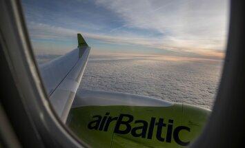 Более миллиона человек путешествовали с airBaltic в течение первых 4 месяцев 2018 года