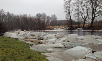 PÄEVAPILT: Kõik jõed ei ole veel jäävabad
