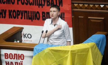 ФОТО: Надежда Савченко впервые выступила в Раде и призвала парламент не предавать народ