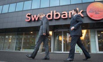 Swedbanki Eesti üksuse uus juht Robert Kitt ja Swedbanki Balti panganduse uus juht  Priit Perens